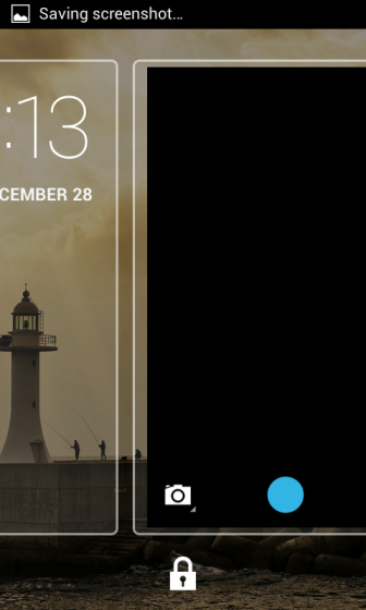 Lockscreen camera